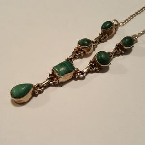 Jewelry - Teardrop malachite